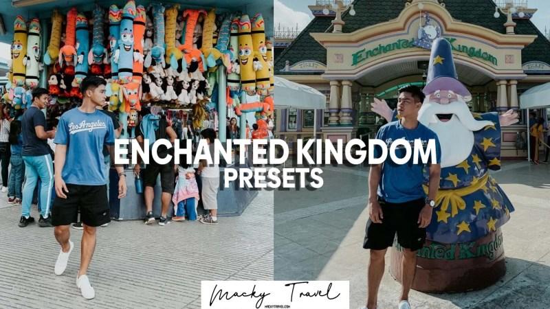 enchanted kingdom lightroom presets