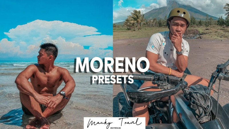 moreno lightroom presets