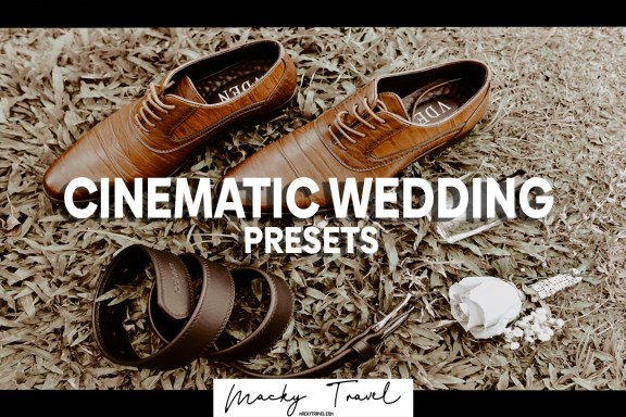 cinematic wedding lightroom presets
