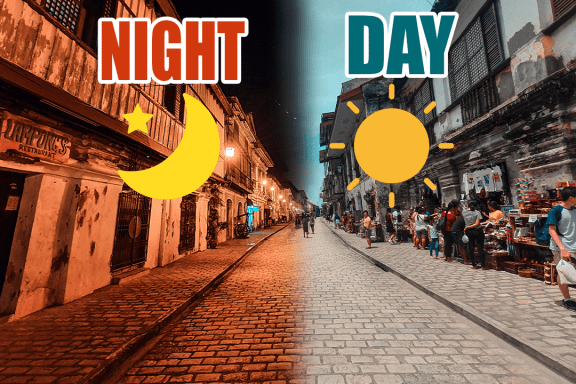 day to night photography