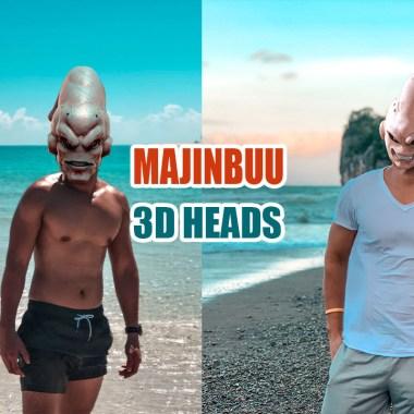MAJINBUU 3D PNG
