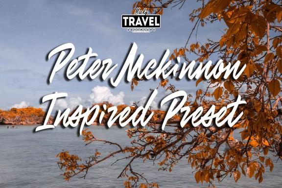 Peter McKinnon Inspired Presets