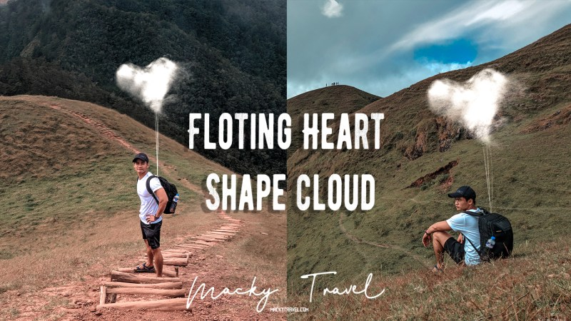 Create Floating Heat Shape Clouds using PicsArt photoshop
