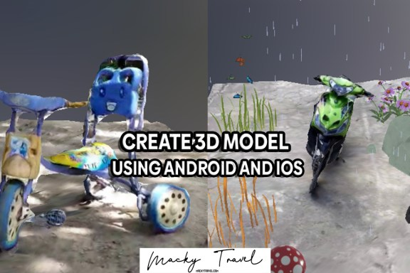 3d model android ios