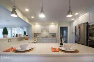 Caesarstone Bianco Drift Quartz by MacLaren Kitchen and Bath