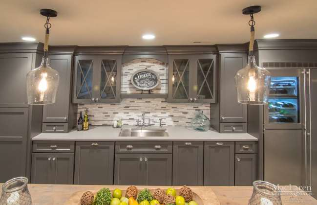 Ceasarstone Pebble Quartz Countertops in West Chester PA by MacLaren