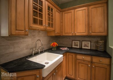 Soapstone Kitchen Display for a farmhouse style