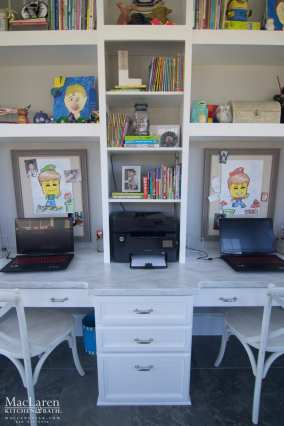 Arrowroot Corian Work Desk