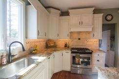 Centra/Mouser custom Cabinetry in Fairmont door style