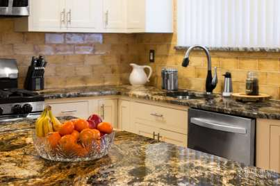 Warm tones to compliment this Magma Circa Granite