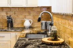 Stainless Undercount Sink with Pulldown Faucet