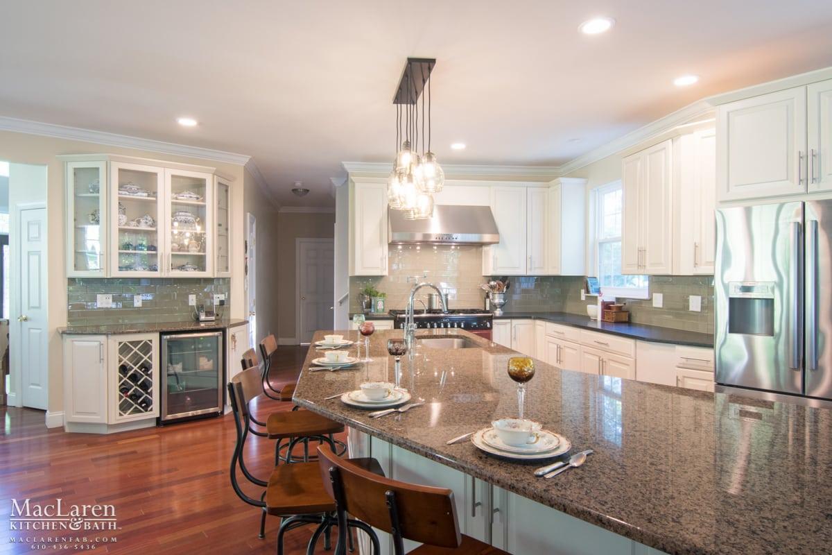 - Open Floor Plan In Earth Tones- Glen Mills, PA - MacLaren Kitchen