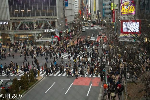 涩谷全向十字街