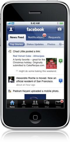 30 facebook 240x486 - Complete sua agenda do celular com fotos atualizadas do Facebook