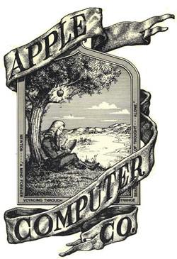 Símbolo antigo da Apple