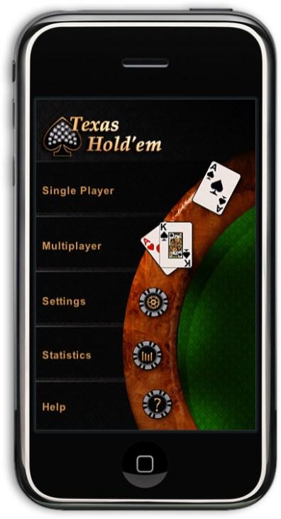 Texas Hold'em no iPhone