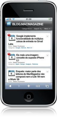 MacMagazine no iPhone