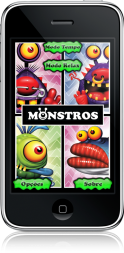 Monstros no iPhone