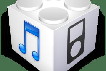 Ícone - Firmware iPhone IPSW iTunes