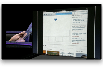 Safari no iPad — Sem Flash