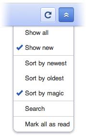 Melhorias no Google Reader mobile