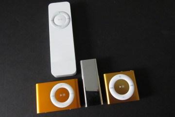 Todos os iPods shuffle
