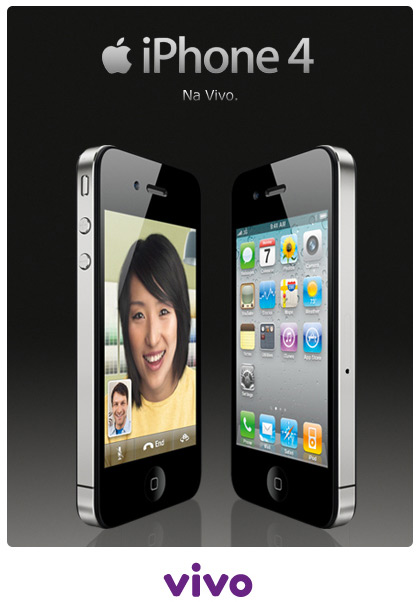 iPhone 4 na Vivo
