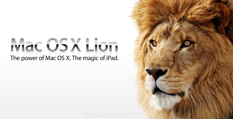 Banner do Mac OS X Lion