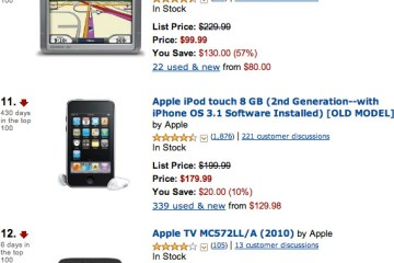 Apple TV na Amazon