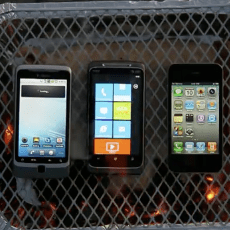 Churrasco de smartphones