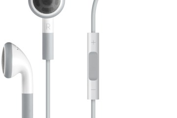 Apple Earphones with Mic - Fones de ouvido