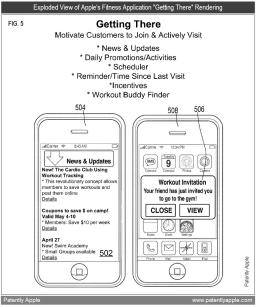Patente de app para academias
