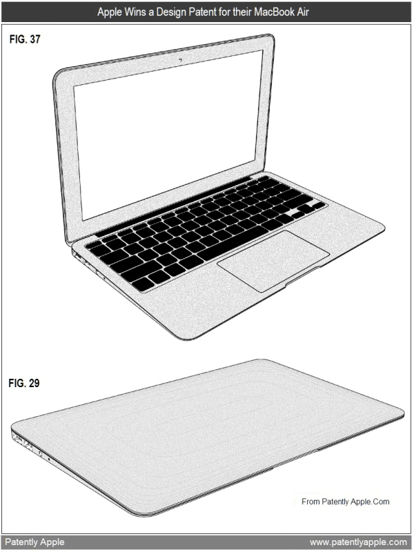 Design do MacBook Air