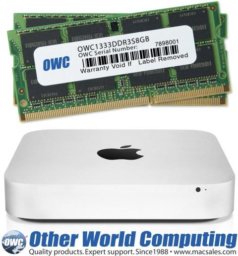 Upgrade de RAM da OWC para Macs mini