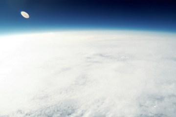 iPhone no espaço