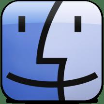 Ícone do Finder no iOS