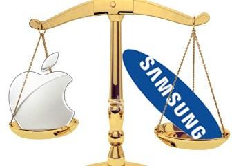 Balança - Apple vs. Samsung