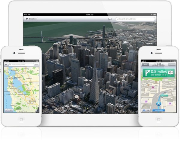 Mapas no iOS 6