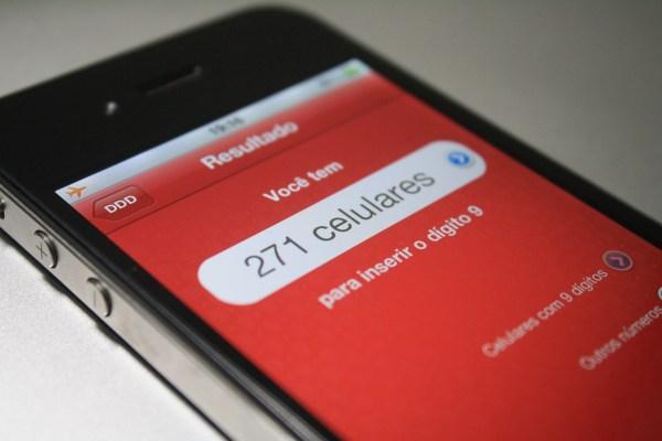 9 Dígitos no iPhone