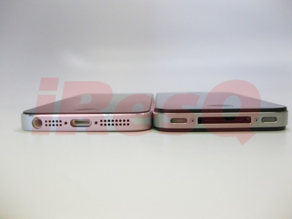 """iPhone 5""  vs. iPhone 4"