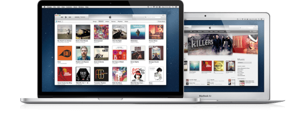 Novo iTunes no Mac