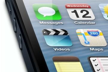Messages em destaque no iPhone 5