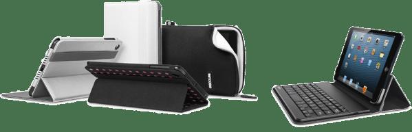 Capas da Belkin e da Incase para o iPad mini