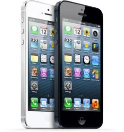 iPhones 5 preto e branco