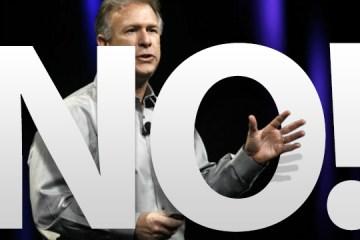 Phil Schiller dizendo não para um iPhone de baixo custo