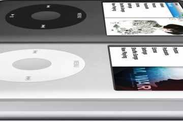 iPods classic de lado