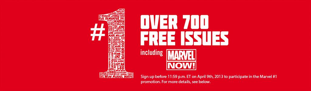 Promoção da Marvel