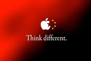 Bandeira - China/Apple