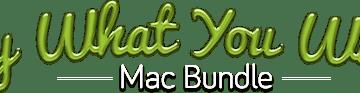 Logo - Pay What You Want Mac Bundle