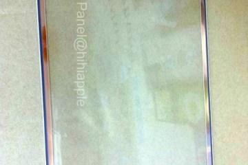 Suposto painel frontal do iPad de quinta geração